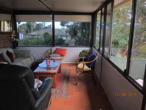 Home exchange in,Australia,NORAH HEAD,Sunroom