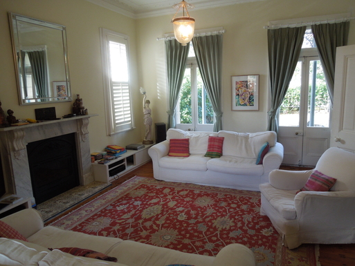 Home exchange in,Australia,Randwick,sitting room