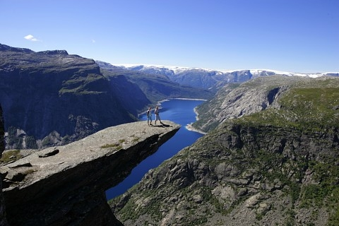 BoligBytte til,Norway,Bergen, 110k, SE,Trolltunga. You start the hike 30 km from our home
