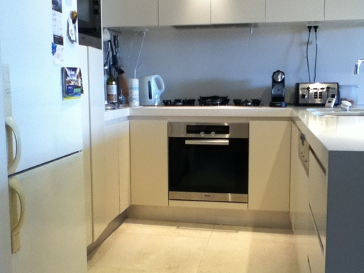 Home exchange in,Australia,DEE WHY,Kitchen with Miele appliances