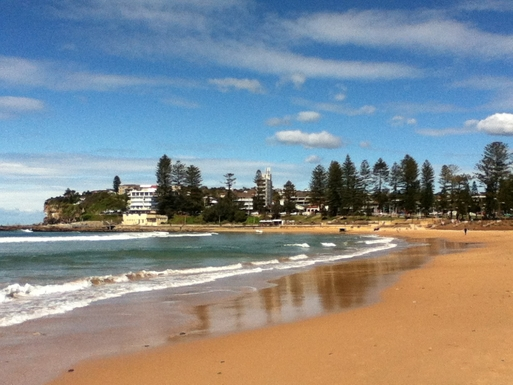 Home exchange in,Australia,DEE WHY,Dee Why headland from the beach