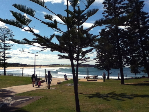 Home exchange in,Australia,DEE WHY,Entrance to Dee Why beach