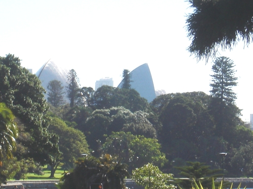 Home exchange in,Australia,DEE WHY,Opera House from the Botanic Gardens, Sydney