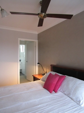 Home exchange in,Australia,MORPETH,Main bedroom with walk through robe to ensuite