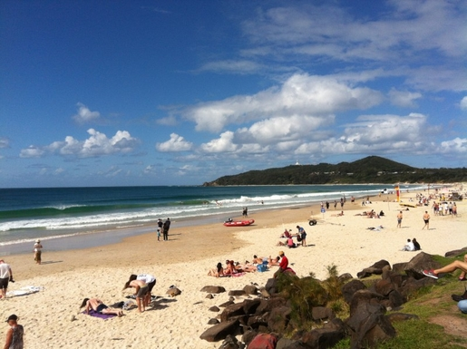 Home exchange in,Australia,Byron Bay,Main Beach Byron Bay  September 2015