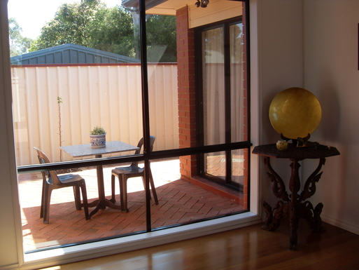 Home exchange in,Australia,MARION,Front foyer with private courtyard
