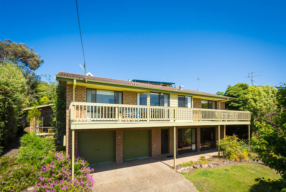 Home exchange in,Australia,Pambula Beach,View of the front of the house