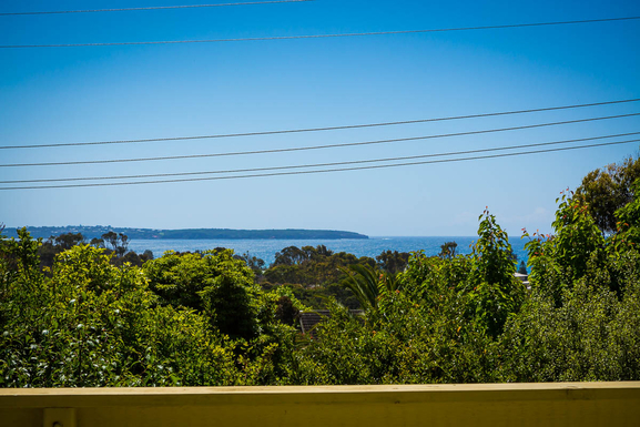 Home exchange in,Australia,Pambula Beach,View of the bay from the upstairs deck