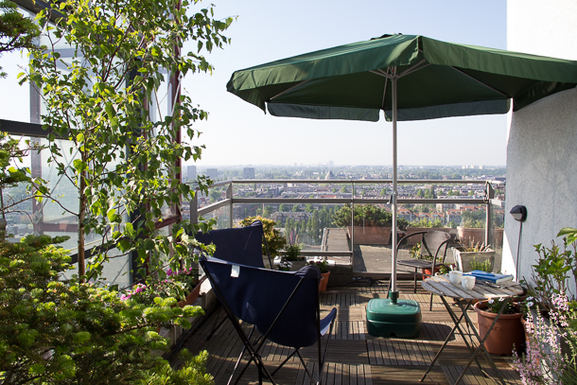 Relax on our roof top terrace & enjoy great views
