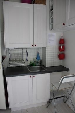 BoligBytte til,Sweden,Hägersten,Mini kitchen in our eldest daughter's bedroom