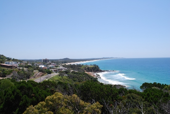 Home exchange in,Australia,Coolum Beach,View from the upstairs deck
