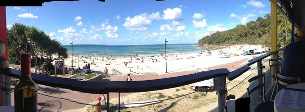 Home exchange in,Australia,Coolum Beach,Noosa Beach from the Noosa Surf Club