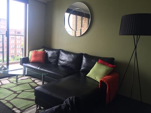 Home exchange in,Australia,POTTS POINT,Lounge room overlooking the Harbour