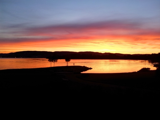 BoligBytte til,Norway,Lier,Very often we are treated to beautiful sunsets
