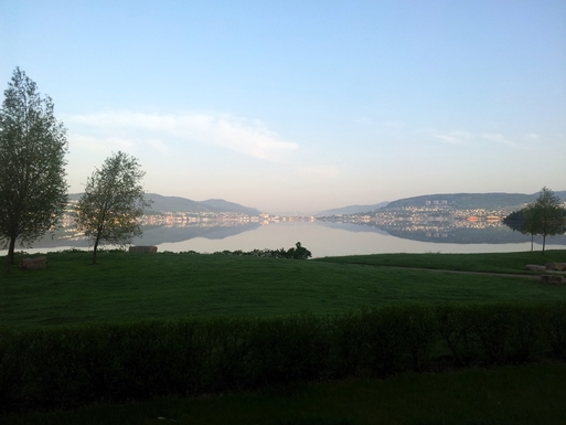 BoligBytte til,Norway,Lier,The town Drammen across the fjord - pop 65000