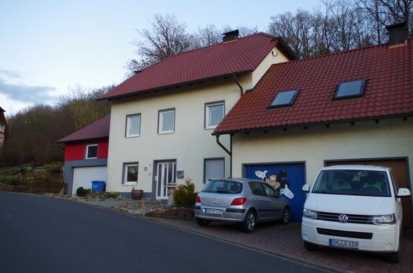 Koduvahetuse riik Saksamaa,Kleinbardorf, Bayern,Mitten in Deutschland im kleinen Kleinbardorf,Home Exchange Listing Image