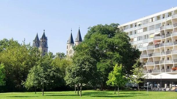 """Home exchange in,Germany,Magdeburg,""""Unsere Lieben Frauen Kloster"""" - Turmspitzen"""
