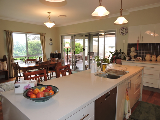 Home exchange in,Australia,Worrigee,From Kitchen to Dining Room
