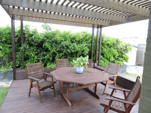 Home exchange in,Australia,Worrigee,The Back Deck - Outdoor Dining