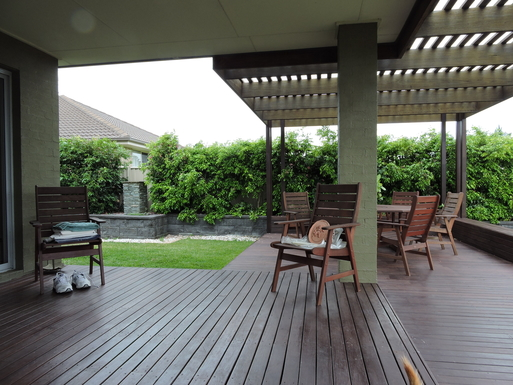 Home exchange in,Australia,Worrigee,The Back Deck