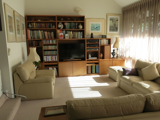 Home exchange in,Australia,BALGOWLAH,Lounge room and entertainment centre