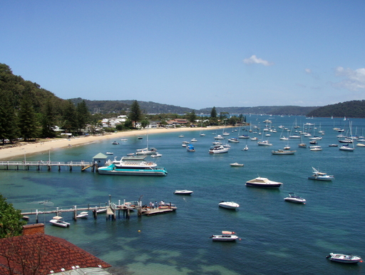 Home exchange in,Australia,PALM BEACH,Palm Beach jetty, Pittwater - ferries to national