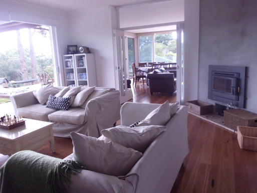 Home exchange in,Australia,Bellingen,TV room