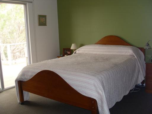 Home exchange in,Australia,Mosquito Hill,Master bedroom