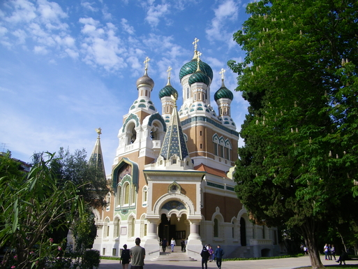the russian church and its garden