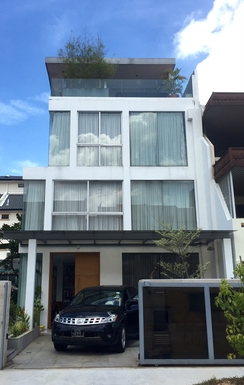 Home exchange in,Singapore,Singapore,The front of our house, viewed from the street