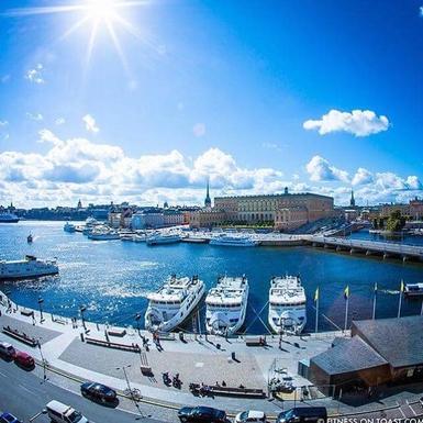 BoligBytte til,Sweden,Stockholm,Stockholm with the Royal Castle in the background