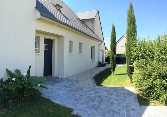 Home exchange in France,Fondettes, Centre-Val de Loire,France 10kms de Tours-Maison moderne piscine,Home Exchange & House Swap Listing Image