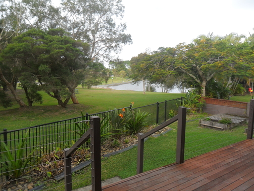 Home exchange in,Australia,Elanora, Gold Coast,view from back deck