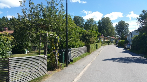 BoligBytte til,Sweden,Stockholm,Our street, Morkullsvägen