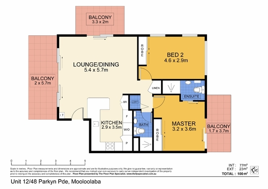 Home exchange in,Australia,MOOLOOLABA,Sunny, north and east aspect