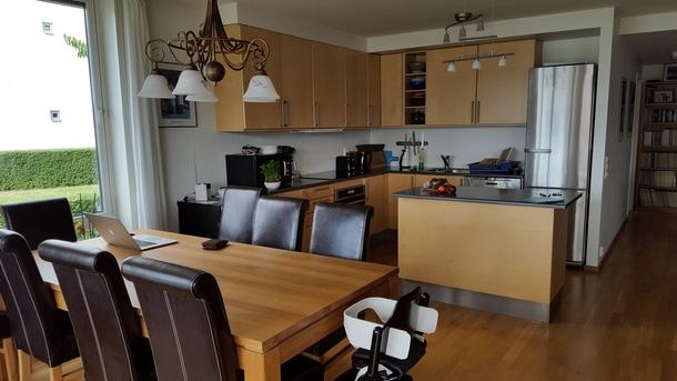 BoligBytte til,Norway,Lier,Open kitchen corner