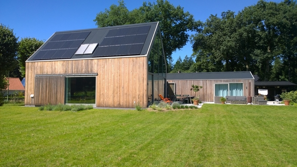 BoligBytte til,Netherlands,Austerlitz , 60km SE of Amsterdam,Sunny side of the house - meadow side
