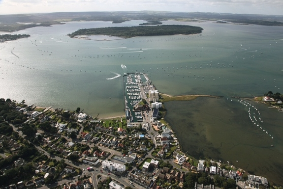 Home exchange in,United Kingdom,POOLE,Brownsea Is.BADEN-POWELL founding scouting in 1907