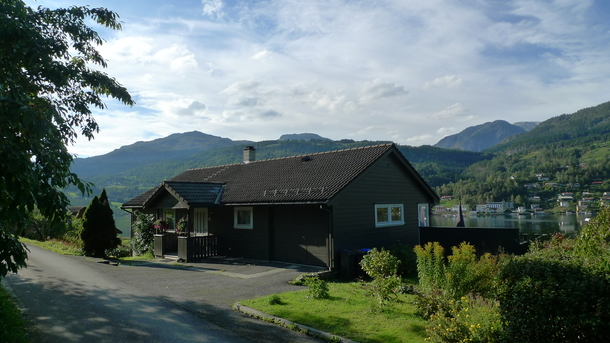 Home exchange country Norveç,Ulvik, Hordaland,A comfortable house by the fjord,Home Exchange Listing Image