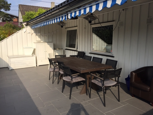 BoligBytte til,Norway,Oslo, 3, S,Terrace with dining area