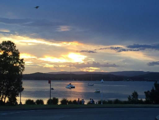 Home exchange in,Australia,WARNERS BAY,Foreshore - from the Esplanade/King St roundabout