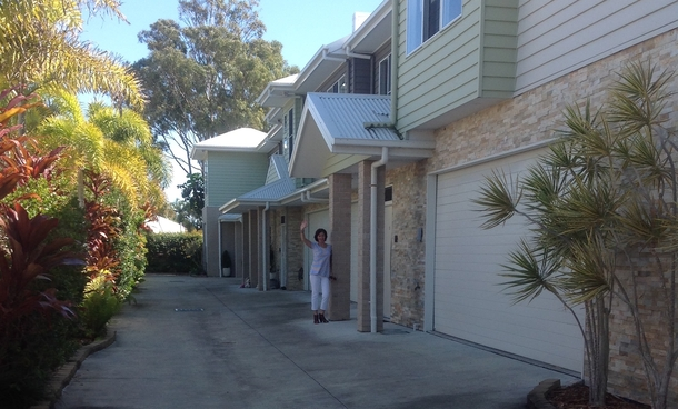 Home exchange in,Australia,Hervey Bay,The front door at our unit