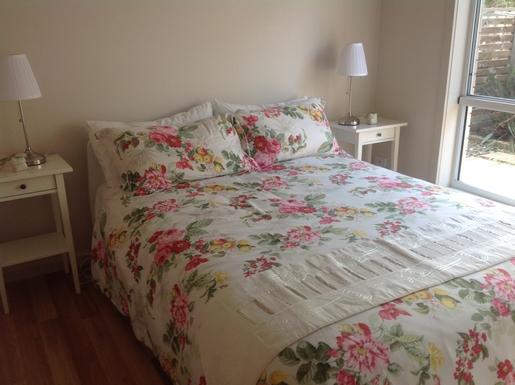Home exchange in,Australia,Hervey Bay,Queen bedroom downstairs/shared bathroom