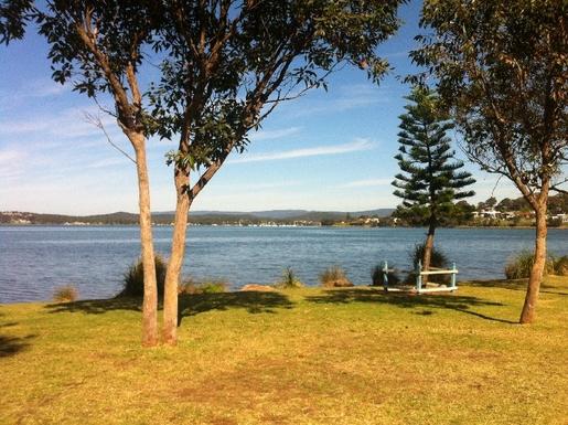 Home exchange in,Australia,WARNERS BAY,Warner Bay looking north-west