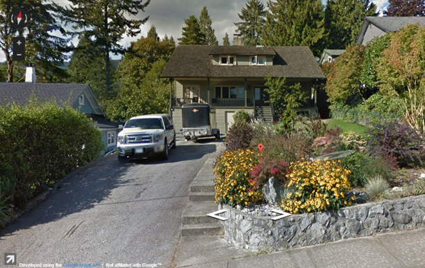 BoligBytte til Canada,North Vancouver, British Columbia,Character Home in Deep Cove,Boligbytte billeder