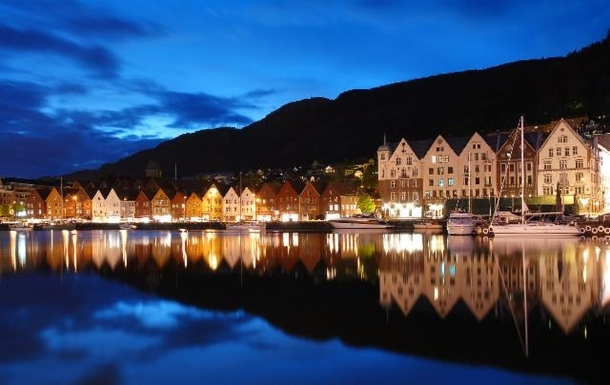 Bryggen in Bergen, UNESCO's World Heritage Listed
