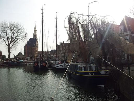 The old Harbour of Hoorn