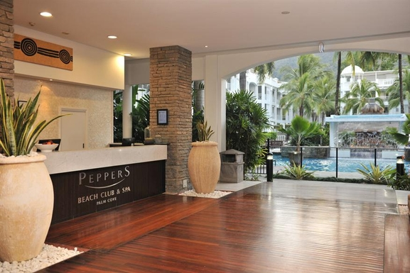 Home exchange in,Australia,PALM COVE,Peppers reception