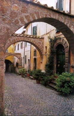 Bostadsbyte i Italien,Tuscania, Lazio,Three-story house in medieval Tuscania,Home Exchange Listing Image