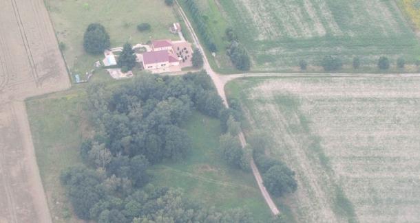 Luftbildaufnahme von 2016